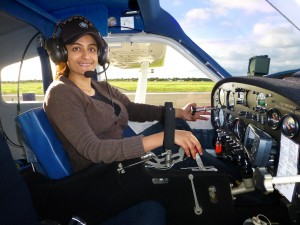 Archana, A Proud Student Pilot at Gawler