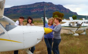 """pilots and Friends"" Rawnsley Park Wilpena Pound in the Flinders Ranges"