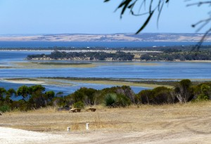 """""""American River"""" from a fly-in to Kangaroo Island"""