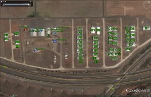 Google Earth Airfield Plan